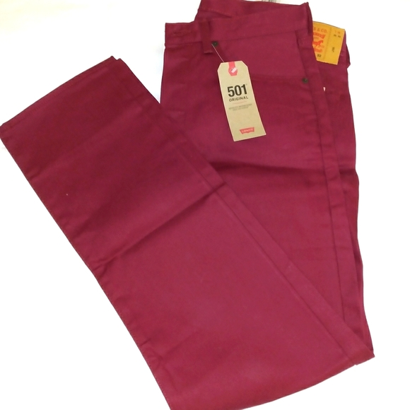 Levi's Button Fly 501